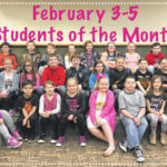 MT Elementary names Feb. Students of the Month