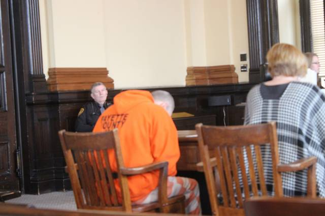 Fayette County Court of Common Pleas acting judge David Bender presided over the hearing and asked Johnson if he was prepared to enter a guilty plea on the facts presented in court. Johnson hesitated, said no, and slumped forward in his chair.
