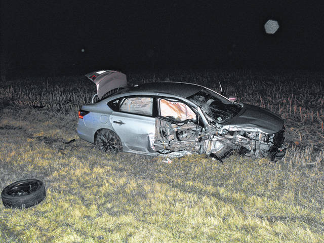 Two vehicles collided early Wednesday morning on US 62 near the intersection of Dickey Road. The drivers of both vehicles were injured and transported to Fayette County Memorial Hospital.