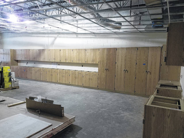 Franke shared an update concerning the weather, but said the move-in date of Jan. 2, 2019 is still expected.
