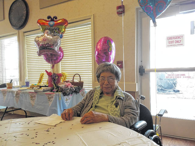 Court House Manor resident Alberta Harris has been a long-time fan of the Record-Herald, reading her paper daily, according to friends. On Thursday, Harris celebrated an incredible milestone when she turned 100-years-old surrounded by her friends and family.