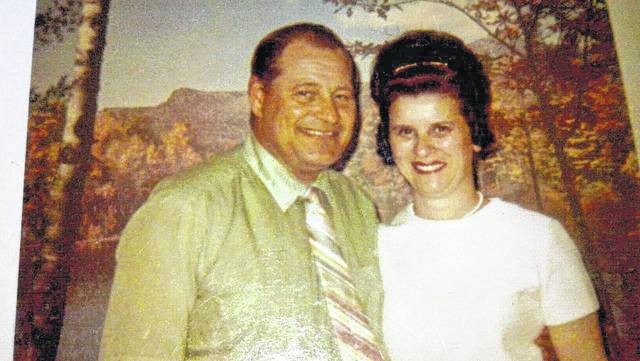 Clarence Christman and wife, Mary Lou.