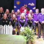 Many students honored at annual MT FFA Banquet