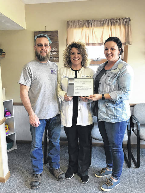 The Fayette County Chamber of Commerce recently congratulated Thompson Family Healthcare, LLC for being in business for one year. Thompson Family Healthcare said they are grateful to the community for its support. The business is also expanding its hours.