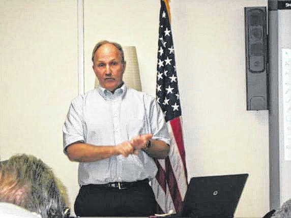 "Paul LaRue presents his program, ""Searching for Homer Lawson: Ohio's African American World War I Veterans,"" to the Fayette County Genealogical Society."