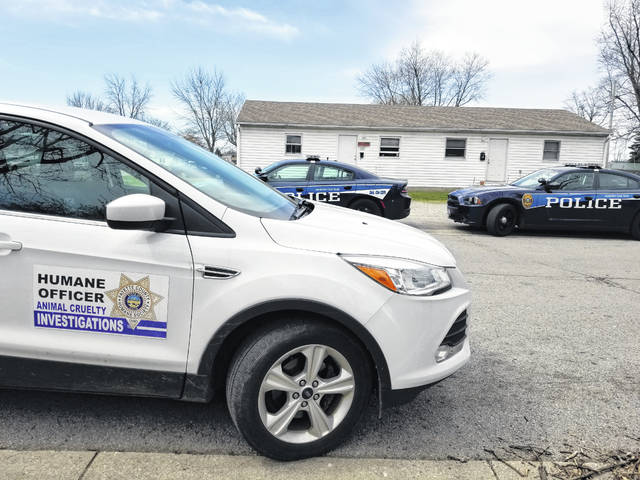 Fayette Regional Humane Society agents and officers from the Washington Police Department responded to a condemned property Saturday in Washington C.H. Agents from the humane society removed two dogs and a cat that are now up for adoption.