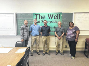 Domtar EarthChoice Ambassadors donate textiles to The Well