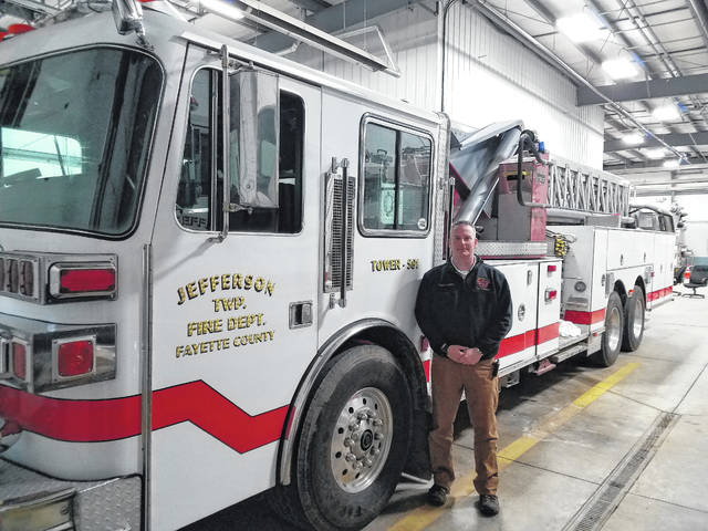 Jefferson Township Fire Department Chief Aaron Hauer