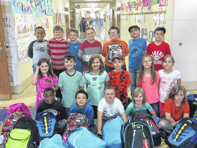 Renee Achtermann's and Heather Clark's class at Cherry Hill Primary School