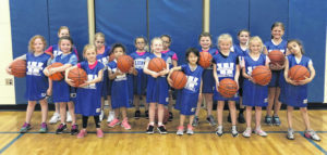 Lady Lions hold K-2 basketball camp