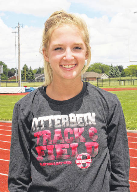 Macy Creamer, a member of the Miami Trace High School Class of 2019, has qualified to the State track meet in the 300-meter hurdles. She will run in the semifinals at Jesse Owens Memorial Stadium Friday at 2:15 p.m. This will be her first time competing at the State meet.