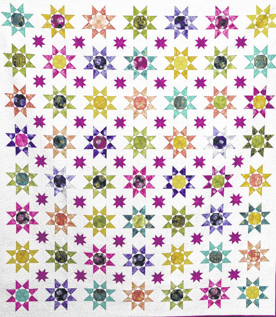 The Court House Quilters' Guild will hold its farewell show May 17-19 at Southern State.
