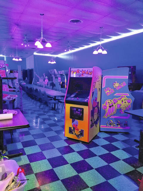 Game On Arcade, a new business opening in Washington C.H., will feature more than two dozen different games.