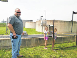 Jeff Library hosts water treatment facility tour