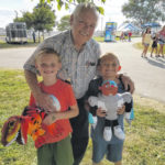 Deskins celebrates birthday at Fayette County Fair