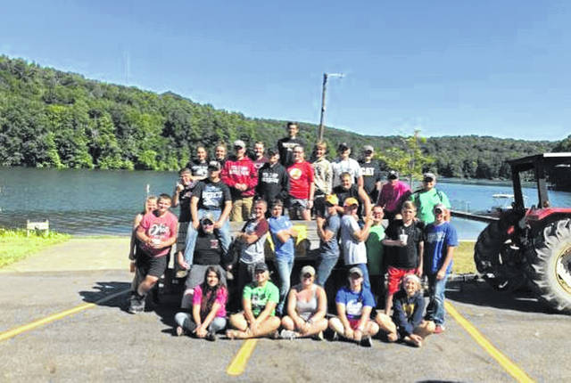Miami Trace/Great Oaks FFA members recently attended FFA Camp Muskingum.