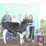 Dairy show held Wednesday