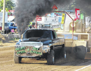 NTPA truck and tractor pull energizes fair-goers