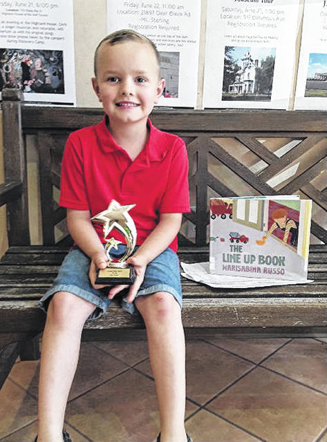 """Will Vernon is the newest member of Carnegie Public Library's """"100 Club."""""""