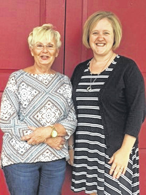 """Pictured are Julia Hidy, co-chair of the 2018 """"A Tasteful Event,"""" and Amber Blair, chair of SOCKS. The """"A Tasteful Event"""" will take place on Saturday, Sept. 15 from 6 to 8 p.m. at St. Andrew's Church, located at 733 State Route 41 South in Washington Court House. Tickets are $25 and can be purchased by calling Good Shepherd Church at 740-335-4682 or St. Andrew's Church at 740-335-2129, or contact Angela Williams Gebhardt at 310-384-4744."""