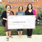Fertile Grounds Coffee donates to FCMH Foundation