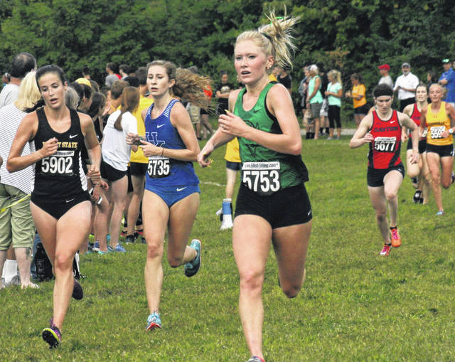 Garrison Competes For Marshall The Record Herald